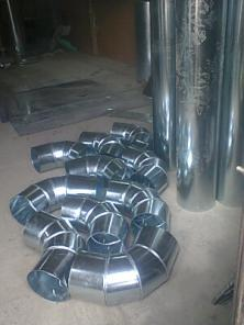 Отводы тройники кожуха для изоляции жестянщики-изолировщики