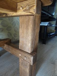 Мебель для баров, кафе, загородных домов из массива дерева.