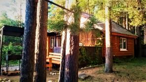 Сдаю дом на Селигере - в сосновом бору, на берегу озера.