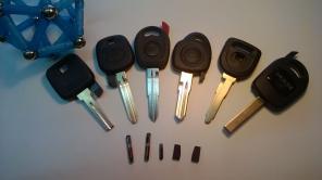 Изготовления авто ключей с чипом (Барнаул)