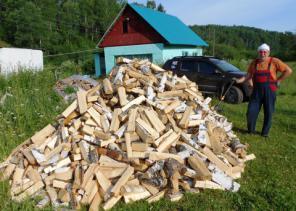 Доставка березовых дров колотых и в чурках