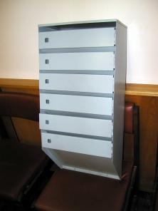 Ящики почтовые металлические подъездные многосекционные