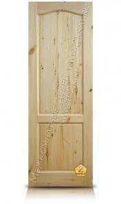 Распродажа дверей с сучками для дачи и бани