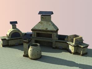 Строительство печного комплекса для ресторанов и кафе