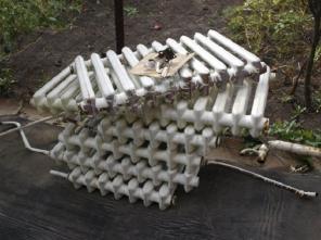 Сдать чугунные батареи на металлолом (прием ванн, лом радиаторов отопл