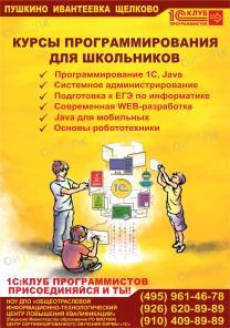 Курсы подготовки к ЕГЭ по информатике и ИКТ Щелково - Ивантеевка