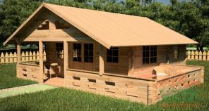 Строим деревянные дачный домики эконом класса в Ростове-на-Дону