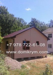 Дачный дом в Севастополе, строительство под ключ