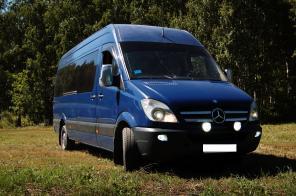 Аренда, заказ и прокат микроавтобусов от 11 до 18 мест