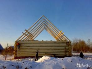 Строительство из дерево