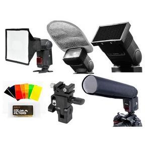 Комплект SA-K6 для накамерных фотовспышек.