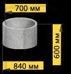 Кольцо бетонное КС7-6 (горловина)