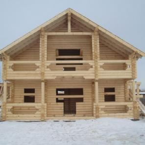 Брусовое строительство дома бани под ключ