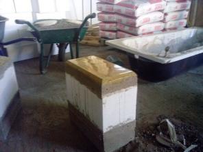Станок по производству от 1200 теплоблоков и строймат. под мрамор