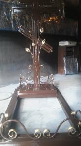 Крест кованый на кладбище 15000 руб.