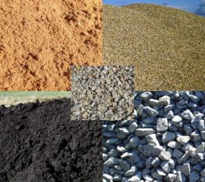 Щебень, песок, ПГС, отсев, асфальт, плитняк, торф, чернозем, грунт