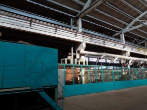 4-колонный гидравлический пресс РП-500 усилие 500 тонн