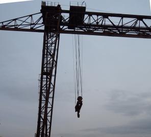 Козловой кран г/п 50 т колея 42 метров, 1989 г.в., с консолями