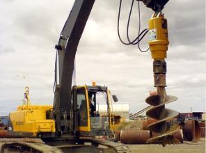Бур (англия) на экскаваторы 10-20 тонн.
