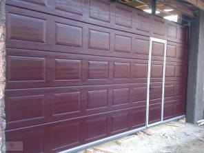 Ворота, секционные гаражные ворота, монтаж секционных ворот