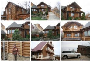 Выполним Рестоврация деревянных домов одесса