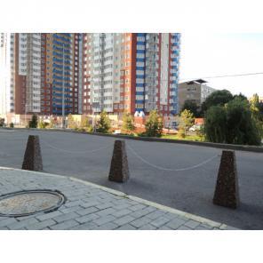 Парковочные столбы, барьеры, блокираторы, полусферы