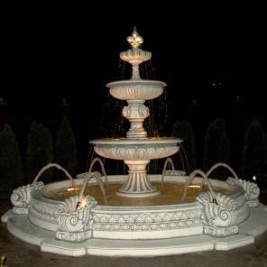 Фонтан бетонный садовый, парковый для сада, двора, дачи, парка