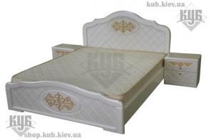 Кровать из МДФ патированные
