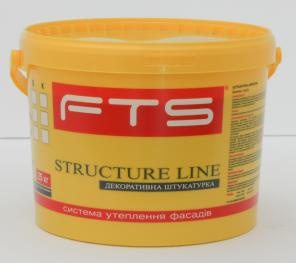 Акрилова фасадна декоративна штукатурка STRUCTURE LINE