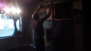 Уборка квартир после пожара в Донецке