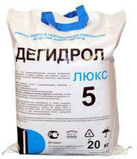 Ремонтная и проникающая гидроизоляция Дегидрол 5