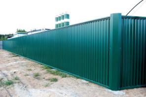 Строительство заборов в Щёкино и районе