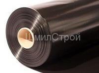 Пленка вторичная техническая черная от 100 до 150мкм