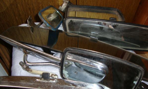 Зеркало для ретроавтомобиля