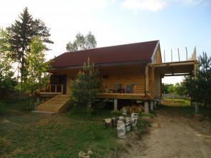 Продается дом из массива сосны