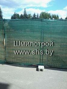 Сетка фасадная зеленая 80г/м2 2х50м