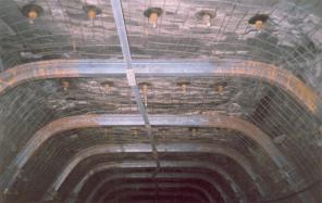 Сетка рифленая (канилированная), шахтная сетка-затяжка, звено соединит