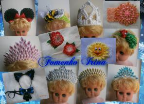 Продаю аксессуары к Новогодним костюмам (короны, ушки, повязки)