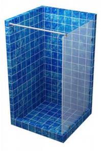 Купить стеклянную перегородку для душа от производителя