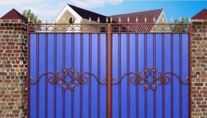Металлич. садовые заборы, козырьки, сварные и кованные ограждения