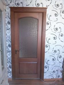 Изготовление деревянных евроокан и дверей