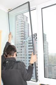 Замена стеклопакета на окне, двери.