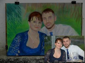 Рисованные портреты красиво и доступно!!