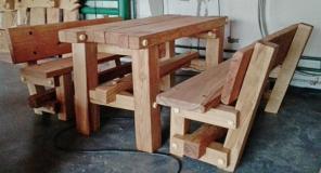 Набор Дубовой мебели - дачный