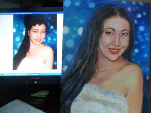 Пишу портреты профессионально с фото к любому празднику и торжеству