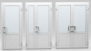Пластиковые и алюминиевые двери и входные группы