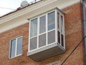Остекление балконов и лоджий. Акция. Балкон пластиковый в Караганде