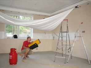 Натяжные, подвесные потолки. Строим вместе.