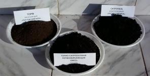 Торфо-сапропелевый сыпучий рекультивант восстановления земель