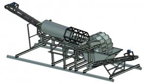 Автономный модульный промывочно-сортировочный узел для песка и ПГС